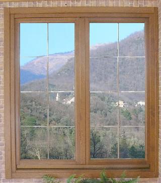 Finestre in legno falegnameria bisso - Finestre a doppio vetro ...