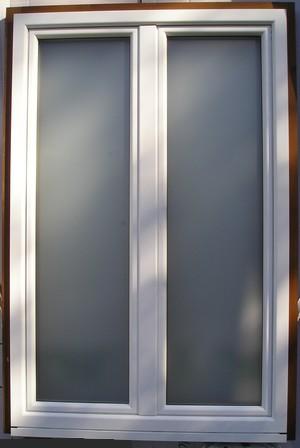 Finestre legno/alluminio. falegnameria bisso.